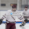 Boys Varsity Hockey: Dedham defeated Bellingham 6-2 on January 5, 2019 at Noble & Greenough in Dedham, Massachusetts.