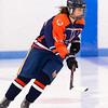 Girls Varsity Hockey: Walpole and Dedham tied 3-3 on February 6, 2016, at Noble & Greenough School in Dedham,  Massachusetts