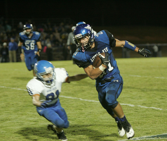 Little Axe v Bridge Creek football 4