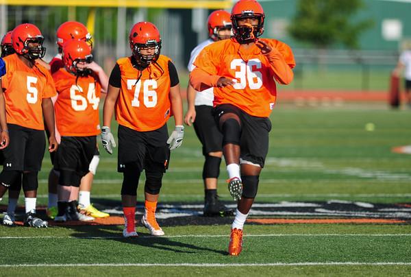 Nornan High Football Practice