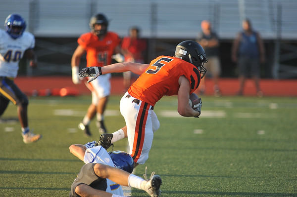 Norman High vs Stillwater FB Scrimmage