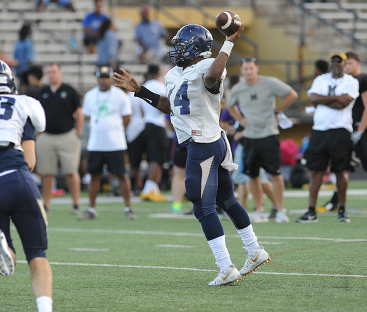 Norman North/ Southmoore scrimmage