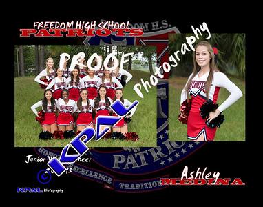 Ashley Medina Team Collage