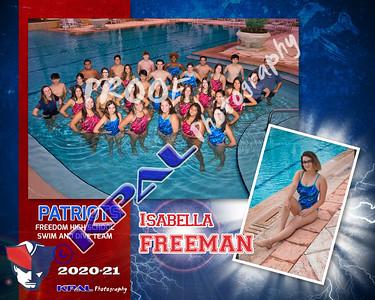 Isabella Freeman Team Collage