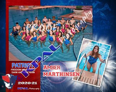 Amber Marthinsen Team Collage