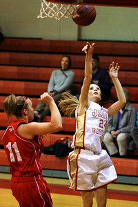 Judge Memorial WBB vs Park CIty 1-22-2013. Adanna Foley (24)