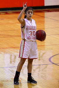 Judge Memorial WBB vs Park CIty 1-22-2013. Sadie Sewell (30)