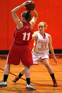 Judge Memorial WBB vs Park CIty 1-22-2013. Jessie Thomas (25)