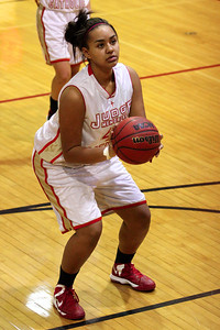 Judge Memorial WBB vs Park CIty 1-22-2013. Tyree Snyder (45)