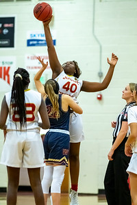 Salt Lake City, UT - Tuesday December 03, 2019: High Schools Girl's Junior Varsity Basketball. Waterford vs Judge Memorial at Judge Memorial High School.  ©2019 Bryan Byerly