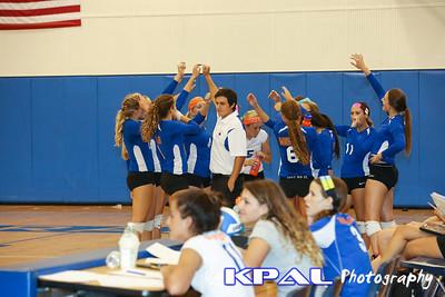 Girls Volleyball vs Olympia 2013-11