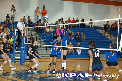 Girls Volleyball vs Olympia 2013-10