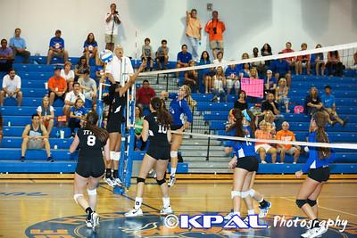 Girls Volleyball vs Olympia 2013-17
