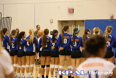 Girls Volleyball vs Olympia 2013-4