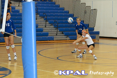 Girls Volleyball vs Olympia 2013-18