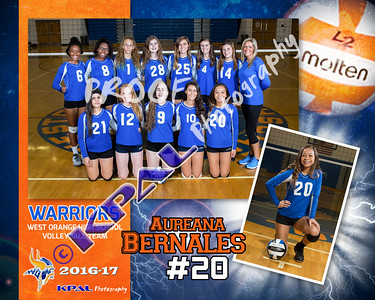 Aureana Bernales-Team collage
