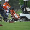during the regional golf tournament, Tuesday, April 26, 2016, at Early Golf Course. (Kyle Phillips / The Transcript)