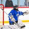 Girls Varsity Hockey: Norwell defeated Hingham 4-3 on February 12, 2020 at Pilgrim Arena in Hingham, Massachusetts.