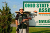 Friday, May 17, 2013 - Justice Neibarger of Johnstown High School at the Ohio State Trapshooting Association located in Marengo, Ohio