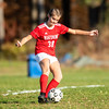 Girls Varsity Soccer: MIAA Division 2 North 1st Round - Belmont defeated Masconomet 1-0 on November 4, 2019 at Masconomet Regional High School in Boxford, Massachusetts
