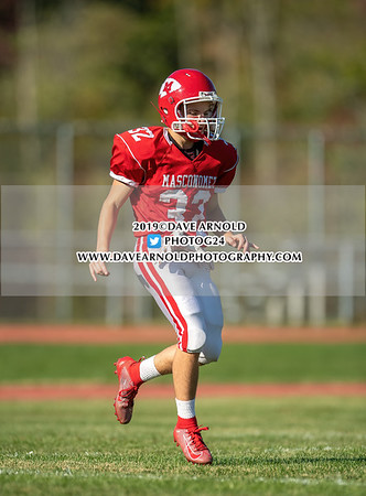 Varsity Football: Masconomet defeated Malden Catholic 16-0 on September 20, 2019 at Masconomet Regional High School in Boxford, Massachusetts.