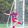 Girls Varsity Soccer: Burlington and Melrose tied 0-0 on October 18, 2016 at Pine Banks Park in Melrose, Massachusetts.