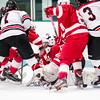 Wellesley Boys Varsity Hockey tied Milton 2-2 on February 11, 2015 at Babson College in Babson Park, Massachusetts.