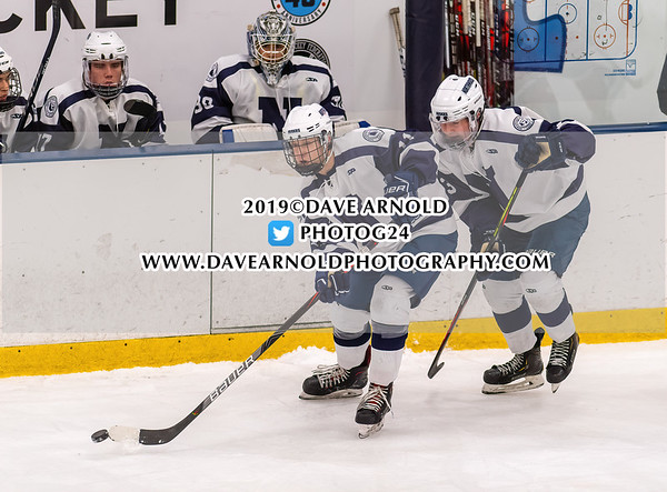 2020 True Prep Cup Semifinal: RI Saints M's defeated Northwood 6-5 on January 4, 2020 at Merrimack College in North Andover, Massachusetts.