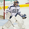 St. John's Prep defeated Needham 5-1 in their MIAA Super 8 round robin game on March 9, 2010, at Merrimack College in North Andover, MA.