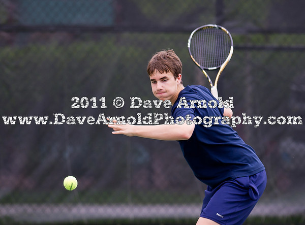 Needham Boys Varsity Tennis defeated Newton North 5-0 on May 24, 2011 at Newton North High School in Newton, Massachusetts.
