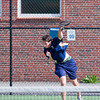 Needham Boys Varsity Tennis defeated Natick 5-0 in the first round if the the MIAA Division 1 South playoffs on May 31, 2011, at Needham High School in Needham, Massachusetts.