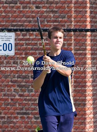 Needham Boys Varsity Tennis defeated Bridgewater-Raynham 5-0 in the semi-finals of the MIAA Division 1 South playoffs on June 8, 2011,  Needham High School in Needham, Massachusetts.