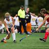 Milton Varsity Field Hockey defeated Needham 5-3 on October 12, 2011, at Needham High School in Needham, Massachusetts.