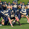Needham JV Football defeated Milton on October 17, 2011, at Needham High School in Needham, Massachusetts.