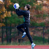 Greater New Bedford Boys Varsity Soccer defeated Needham 3-2, in overtime, in the semi-finals of the MIAA Division 1 South playoffs on November 11, 2011, at Medway High School in Medway, Massachusetts.