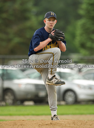 Needham JV Baseball defeated Norwood on May 24th, 2012, at Needham High School in Needham, Massachusetts.