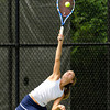 Needham Girls Varsity Tennis defeated Marshfield 5-0 in the first round of the MIAA Division 1 South Tournament on June 1st, 2012, at Needham High School in Needham, Massachusetts.