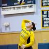 Newton North Girls Varsity Volleyball defeated Needham 3-1 on October 25, 2012, at Needham High School in Needham, Massachusetts.