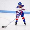 Needham Girls Varsity Hockey defeated Brookline 8-0 on December 12, 2012, at Walter Brown Arena in Boston, Massachusetts.