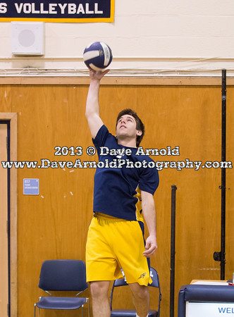 Needham Boys Varsity Volleyball on May 6, 2013, at Needham High School in Needham, Massachusetts.
