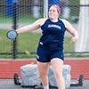 Needham Girls Varsity Track & Field verses Framingham on May 7, 2013, at Needham High School in Needham, Massachusetts.