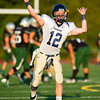 Needham Varsity Football defeated Mansfield 21-14 in a non-conference match up on September 15, 2012, at Mansfield Hgh School in Mansfield, Massachusetts.