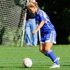 Needham Girls Varsity Soccer defeated Brookline 3-2 on September 5, 2012, at DeFazio Field in Needham, Massachusetts.