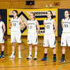 Needham Girls Varsity Basketball on February 11, 2014, at Needham High school in Needham, Massachusetts.