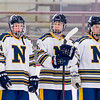 Needham Boys Varsity Hockey defeated Newton North 2-1 on Sunday February 16, 2014, at the Reilly Rink in Brighton, Massachusetts.