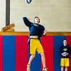 Needham Boys Varsity Volleyball defeated Brookline 3-0 (25-15, 25-10, 25-16) on April 4, 2014, at Brookline High School in Brookline, Massachusetts.