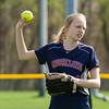 Needham Girls Varsity Softball defeated Brookline on May 7, 2014 at Needham High School in Needham, Massachusetts.