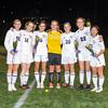 Needham Girls Varsity Soccer defeated Newton North 3-0 on October 27, 2014, at Needham High School in Needham, Massachusetts.