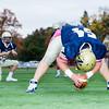 Needham Varsity Football defeated Quincy 29-27, in overtime, to win the MIAA D2 South Quarter Final October 31, 2014, at Needham High School in Needham, Massachusetts.
