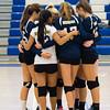 Needham Varsity Girls Volleyball in action against Braintree on October 21, 2015, at Braintree High School in Braintree, Massachusetts.